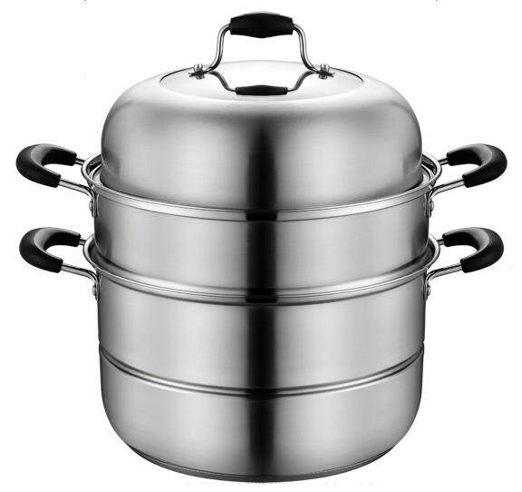 30cm, 2Tier, 304 Stainless Steel Steam/Soup Multipots (Induction)