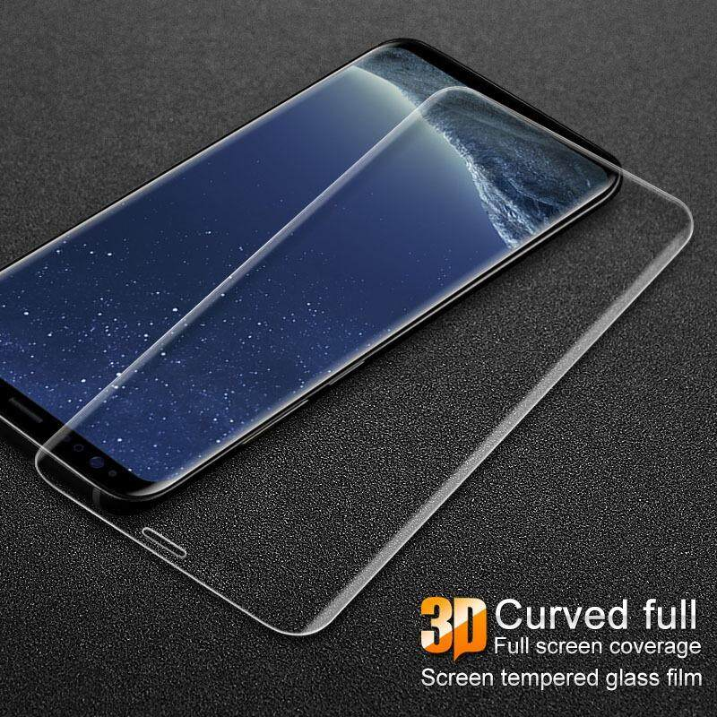 IMAK 3D Curved Tempered Glass Protector For Samsung Galaxy S9 Plus Screen Glass Film For Samsung