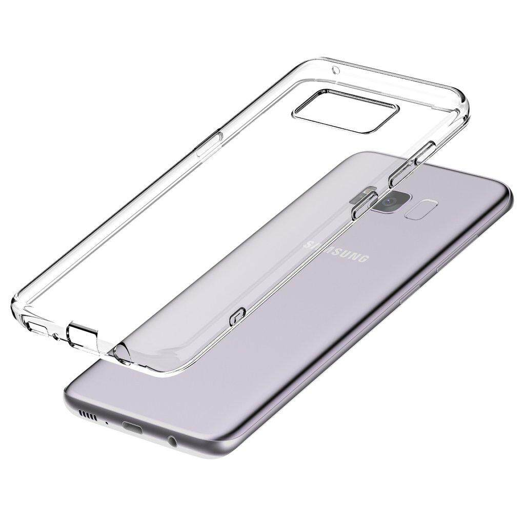 TPU Silicone Case for Samsung S8  (Transparent)