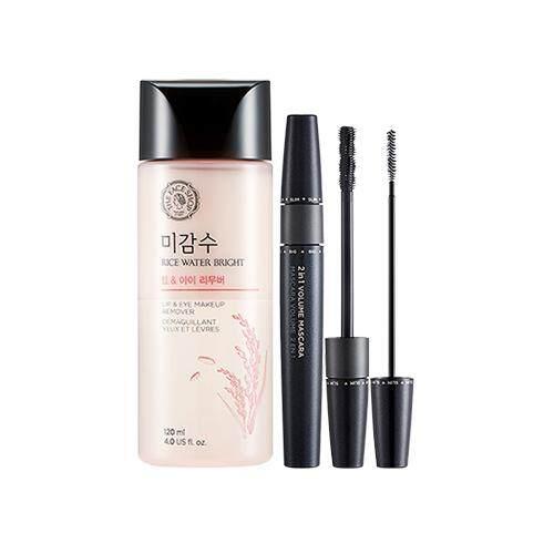 THE FACE SHOP Mascara & Makeup Remover 2 Item Set