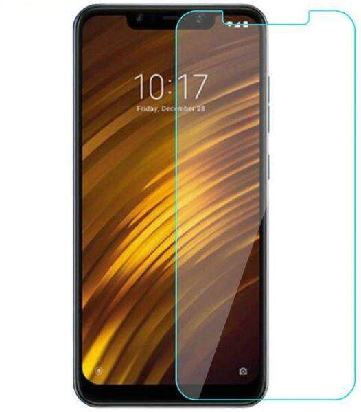 Tempered Glass for Xiaomi Pocophone F1 - 2.5D Curve Screen Protector [Transparent]