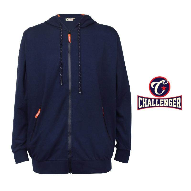 CHALLENGER BIG SIZE HOODIE SWEATER CH7013 (Navy)