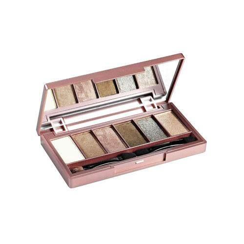 MISS HANA Novadiva 6-Colors Eye Shadow Palette 3g - GR-01 Confident Moment