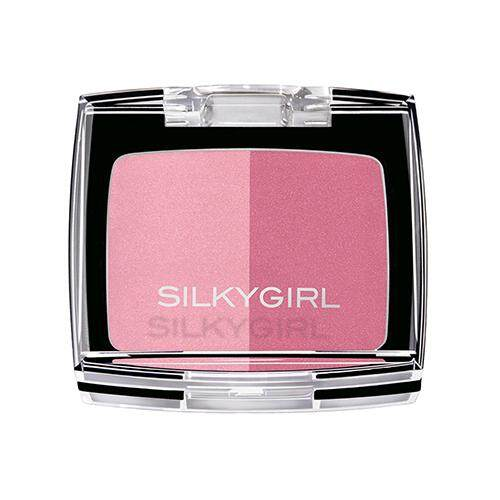 SILKYGIRL Shimmer Duo Blusher 4g - 03 Rose Petal