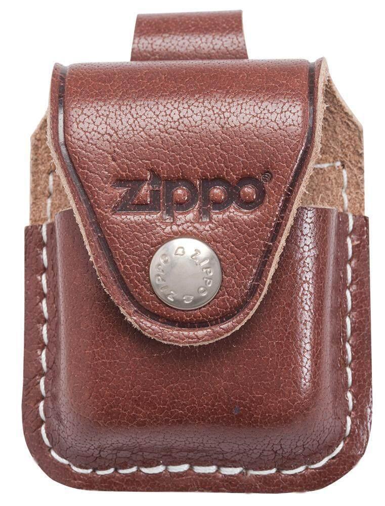 Zippo LPLB Brown Lighter Pouch- Loop