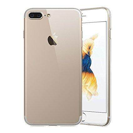 TPU Silicone Case for Iphone 7 Plus / 8 Plus (Transparent)