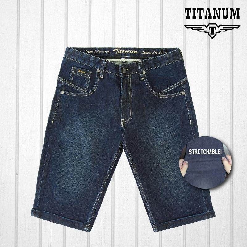 TITANUM BIG SIZE Stretchable Jean Shorts TJS508
