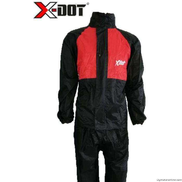 X-DOT RC08 Raincoat-Red