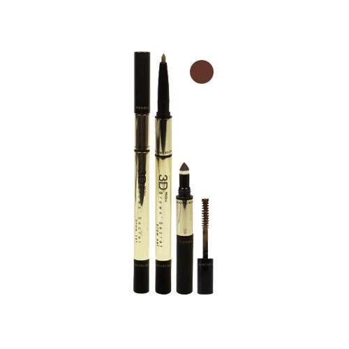 MISTINE 3D Brows Secret Brow Set - 01 Dark Brown