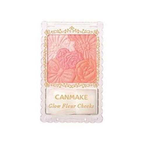 CANMAKE Glow Fleur Cheeks Blusher 6.3g - 01 Peach Fleur
