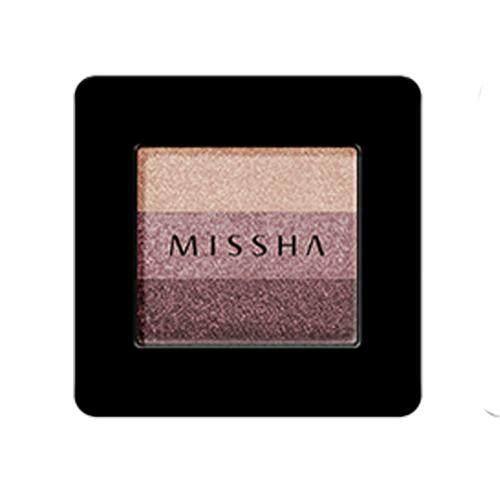MISSHA Triple Shadow 2g - 01 Brownie Pink