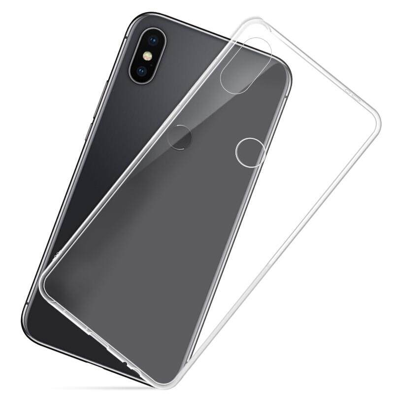 TPU Silicone Case for Xiaomi Redmi Note 5  / AI / Pro (Transparent)