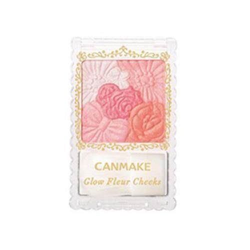 CANMAKE Glow Fleur Cheeks Blusher 6.3g - 02 Apricot Fleur