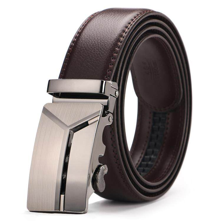 DOULILU Men Leather Automatic Buckle Waist Belt Tali Pinggang 178 -MI1782
