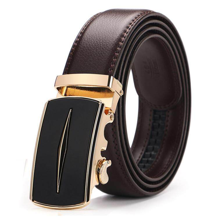 DOULILU Men Leather Automatic Buckle Waist Belt Tali Pinggang 205 -MI2054