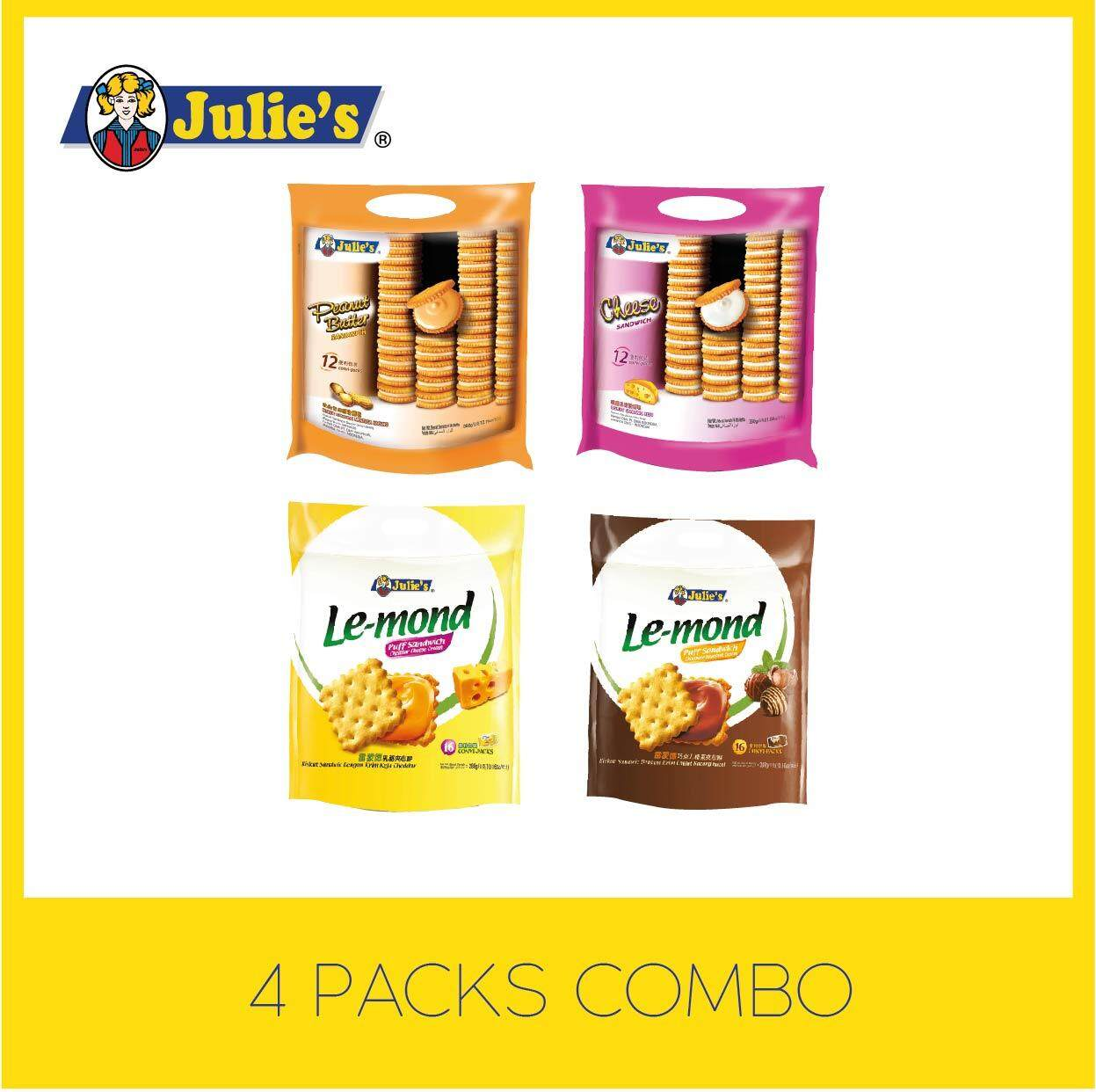 Julie's Teatime Happy Deal + Free 5 pack Convi pack Biscuit