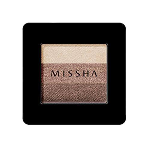 MISSHA Triple Shadow 2g - 04 Chocolate Brown