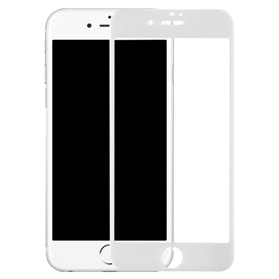 Tempered Glass for Apple iPhone 7/8 [Full Cover White]  Screen Protector