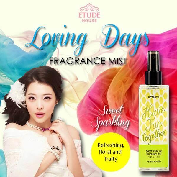 Etude House Loving Days Sweet Sparkling Fragrance Mist 170ml