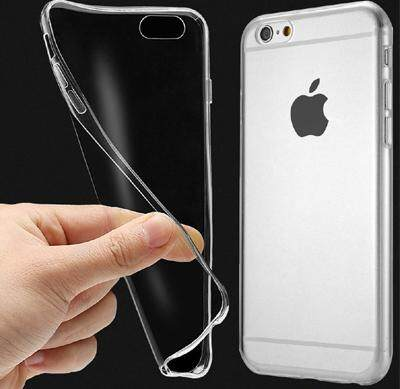 TPU Silicone Case for Iphone 6/6S (Transparent)