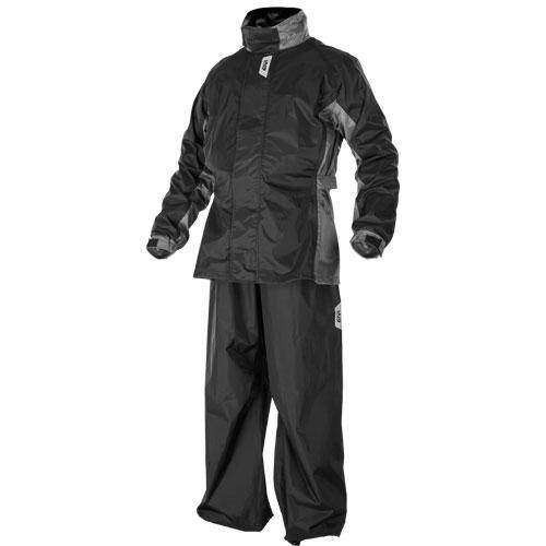 **100% Original** GIVI RRS07 Rainsuit Baju Hujan Original (Black Grey)
