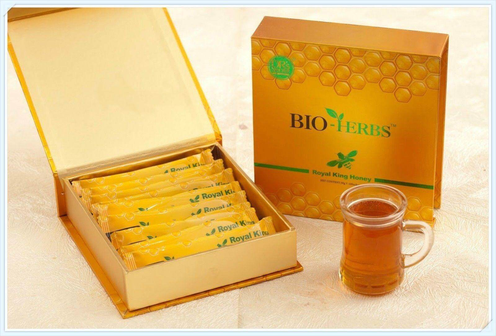 BIO Royal Honey VIP With Herbal Extracts 10*30 gram