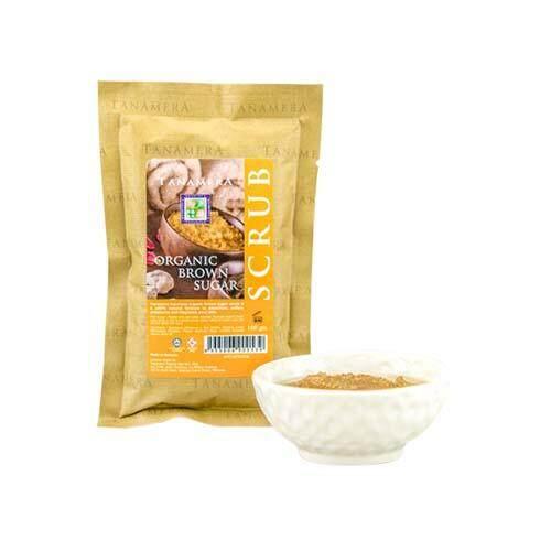 TANAMERA Organic Brown Sugar Scrub 100g