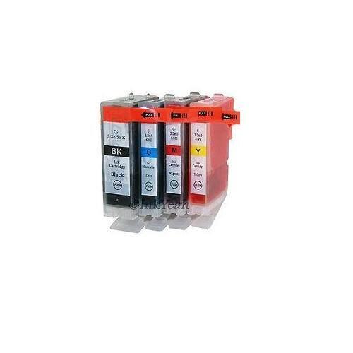 BCI-3E Compatible BCI 3e 4 Multi Pack Ink Cartridge (B/C/M/Y)