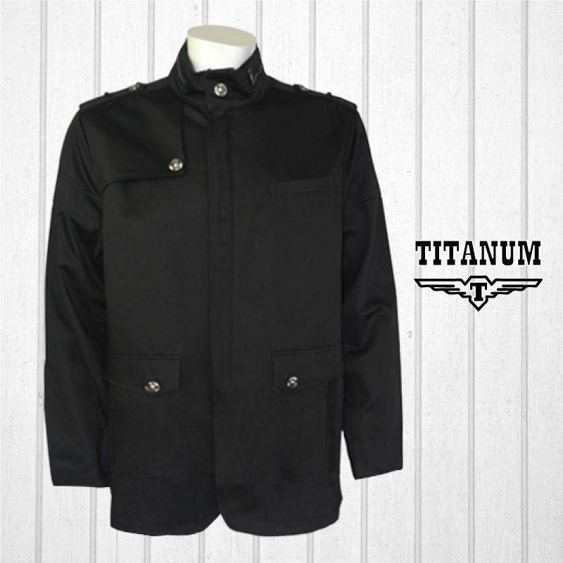 TITANUM BIG SIZE Formal Jacket With Lining TIM7001 (Black)
