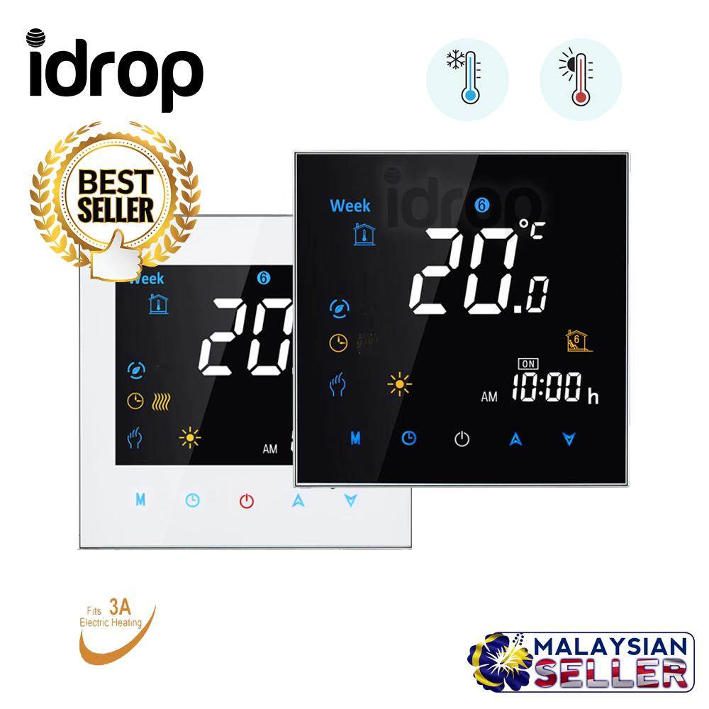 Colorful Letter Screen Thermostat Controller for Water Underfloor Heating System