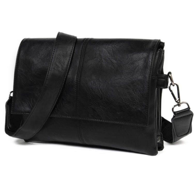 Classic Men Casual Leather Sling Business Shoulder Messenger Bag MI0591