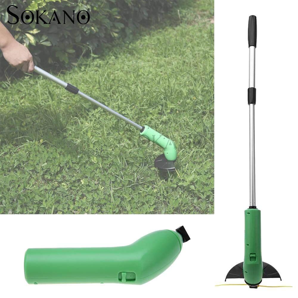 SOKANO Cordless Zip Trim Lawn Mower Weeder Weed Trimmer for Grass Garden Courtyard
