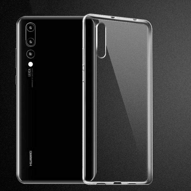 TPU Silicone Case for Huawei P20 / P11 (Transparent)