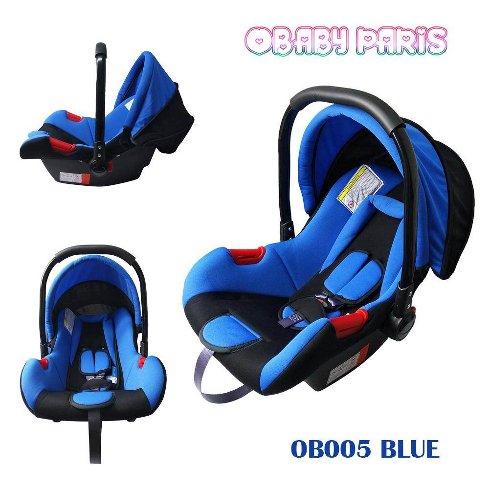 OBaby Paris OB005 Premium Baby Carrier Basket, Baby Car Seat and Cradle - Blue