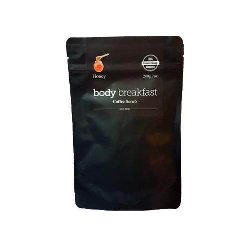 BODY BREAKFAST Coffee Scrub 200g - Honey