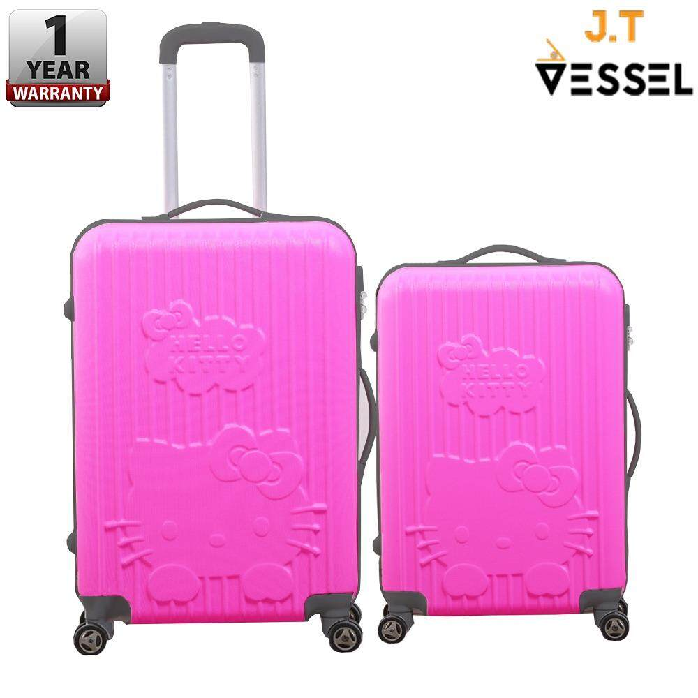 "J.T VESSEL:1 Year Warranty Durable Cute & Adorable Charmmy 20"" & 24"" KT Luggage WITH 1 YEAR WARRANTY"