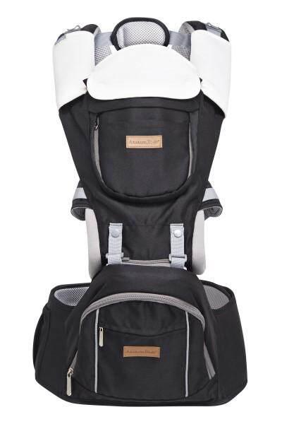 Akarana Baby Piri Baby Hipseat Carrier (Black)