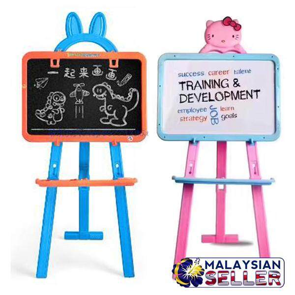 Childrens Interactive and Educational Activity Easel Board - 2 Sided White & Black Board toys for girls -