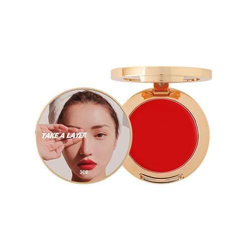3CE Take A Layer Multi Pot 4.2g - Scarlet Red