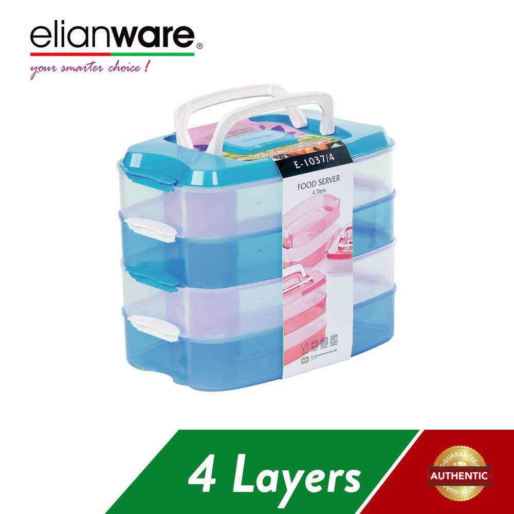 Elianware 4 Layer Food Keeper Airtight Container BPA Free (10L)