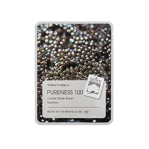 TONY MOLY Pureness 100 Mask 5 Sheet  - Caviar