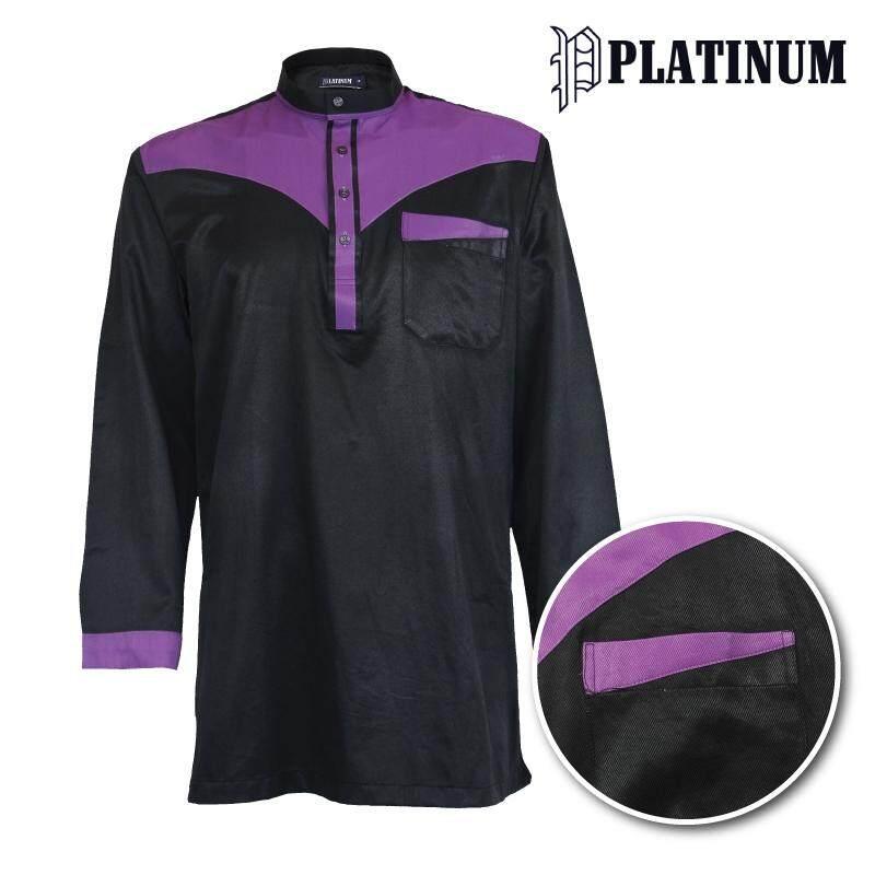 PLATINUM BIG SIZE Microfiber Kurta Cut & Sew PM9154 (Black)