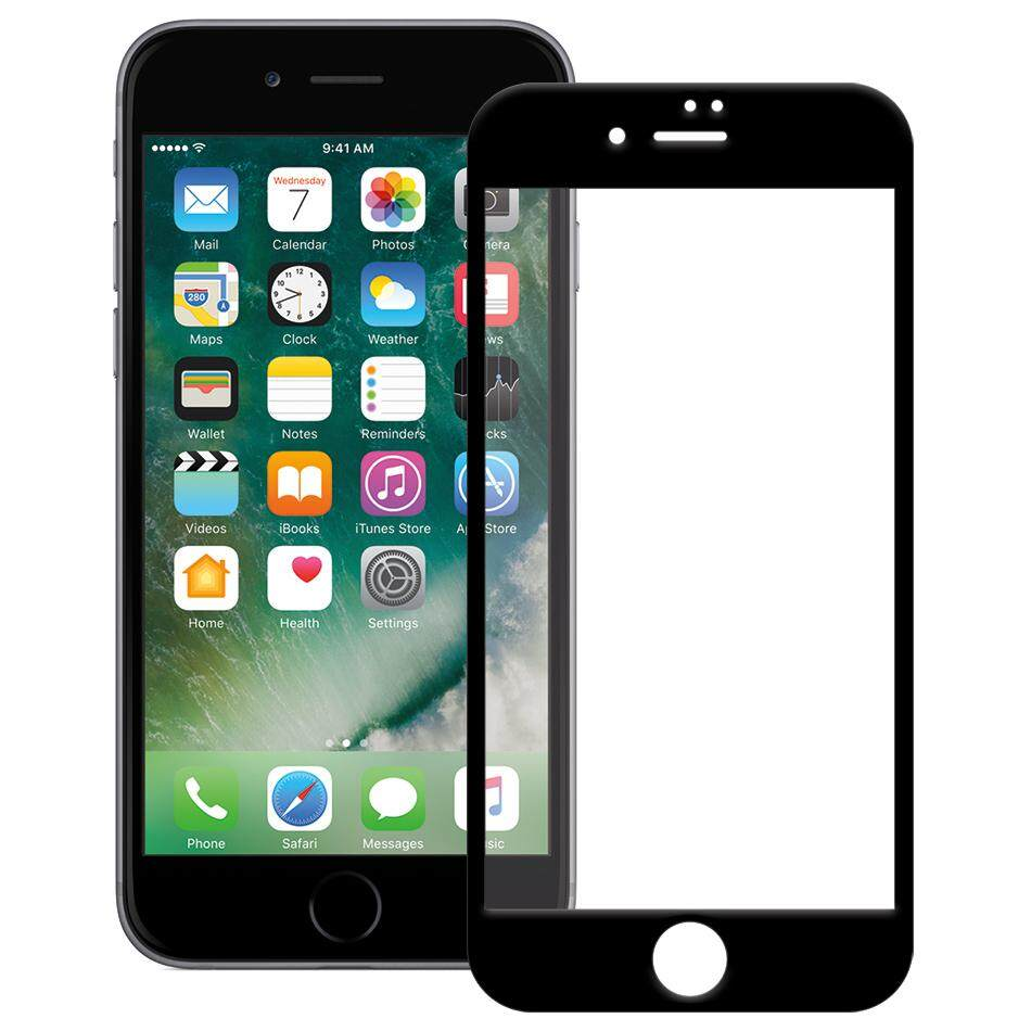Tempered Glass for Apple iPhone 7/8 [Full Cover Black]  Screen Protector