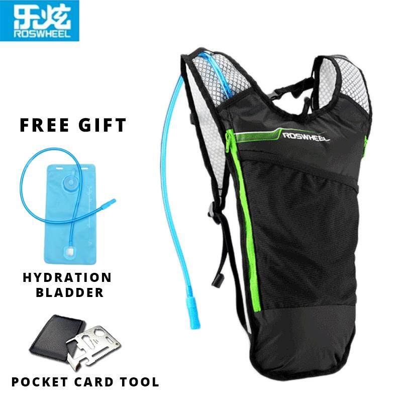 [Attractive Free Gift!] Original Roswheel Cycling Bag/Backpack+Hydration Bladder 15937 - RB0122