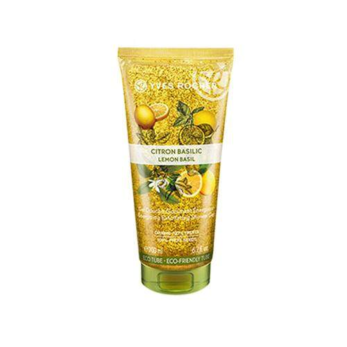 YVES ROCHER Plaisir Nature Energy Exfoliating Shower Gel 200ml - Lemon Basil