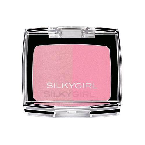SILKYGIRL Shimmer Duo Blusher 4g - 02 Blushing Pink