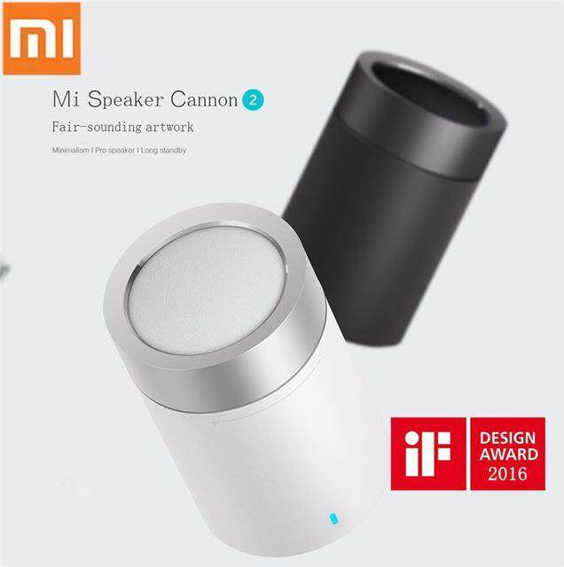 Xiaomi Mi Bluetooth Round Speaker Basic 2 - Bluetooth Wireless Portable - Black / White