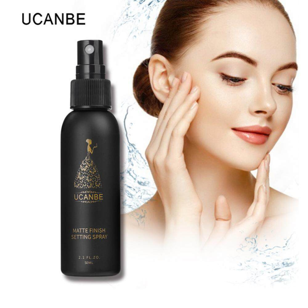 UCANBE 50ml Moisturizing Makeup Setting Spray Long-lasting Foundation Fixer Matte Natural - intl