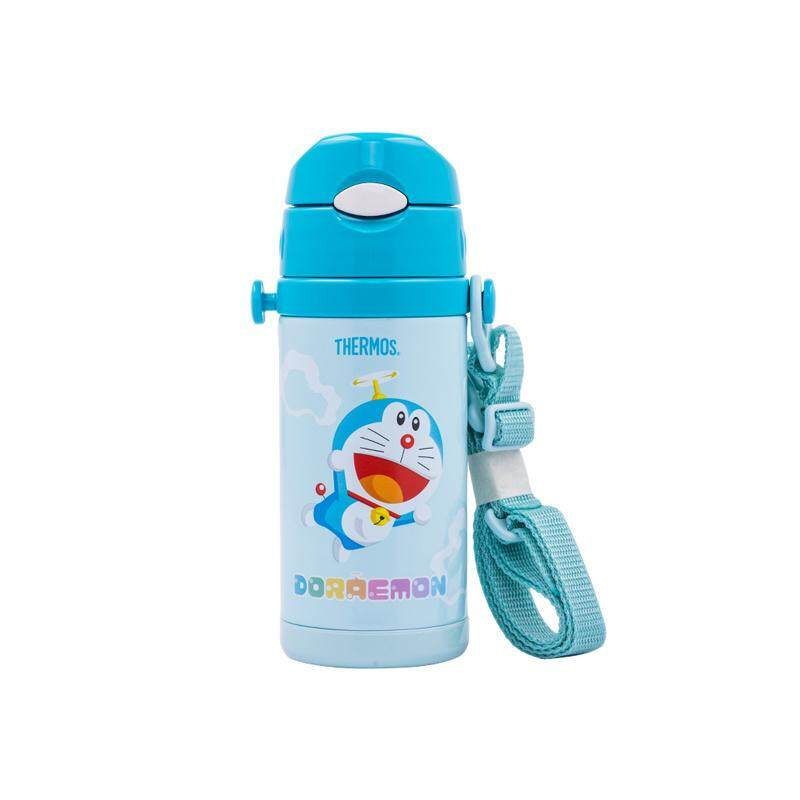 Thermos 0.4L Doraemon Ice Cold Bottle with Strap (FFS-400DRM)
