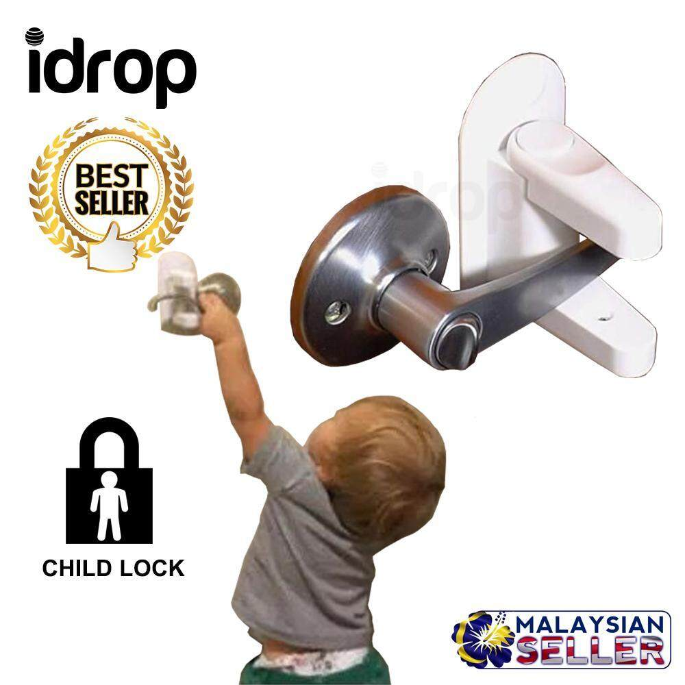 idrop Anti-Open Door Protection Lock Child Kids Baby Safety Security